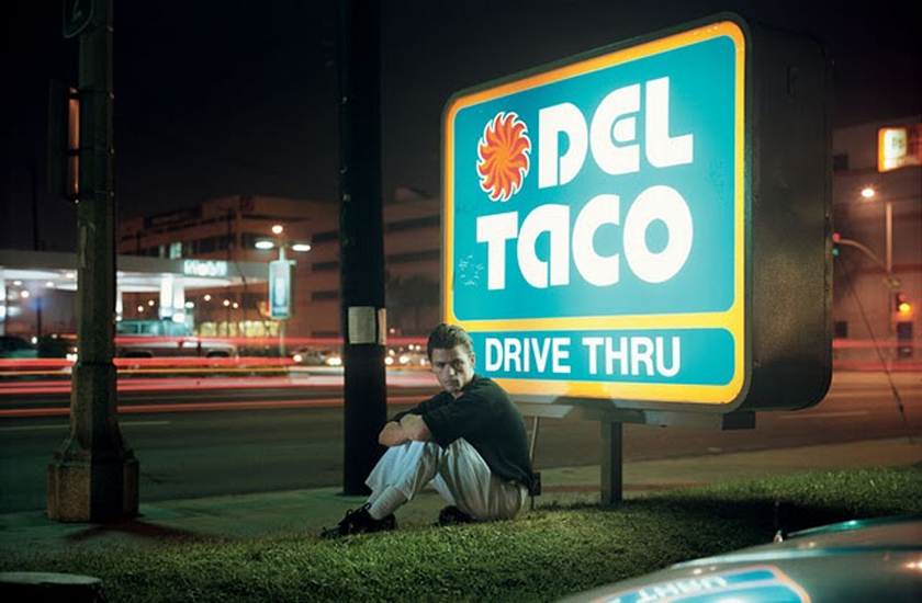 Philipe-Lorca DiCorcia, Ralph Smith; 21 Years Old; Ft Lauderdale, Florida, $25, 1990-1992 ektacolor print 85 x 118 cm - 33 1/2 x 46 1/2 inches (framed)