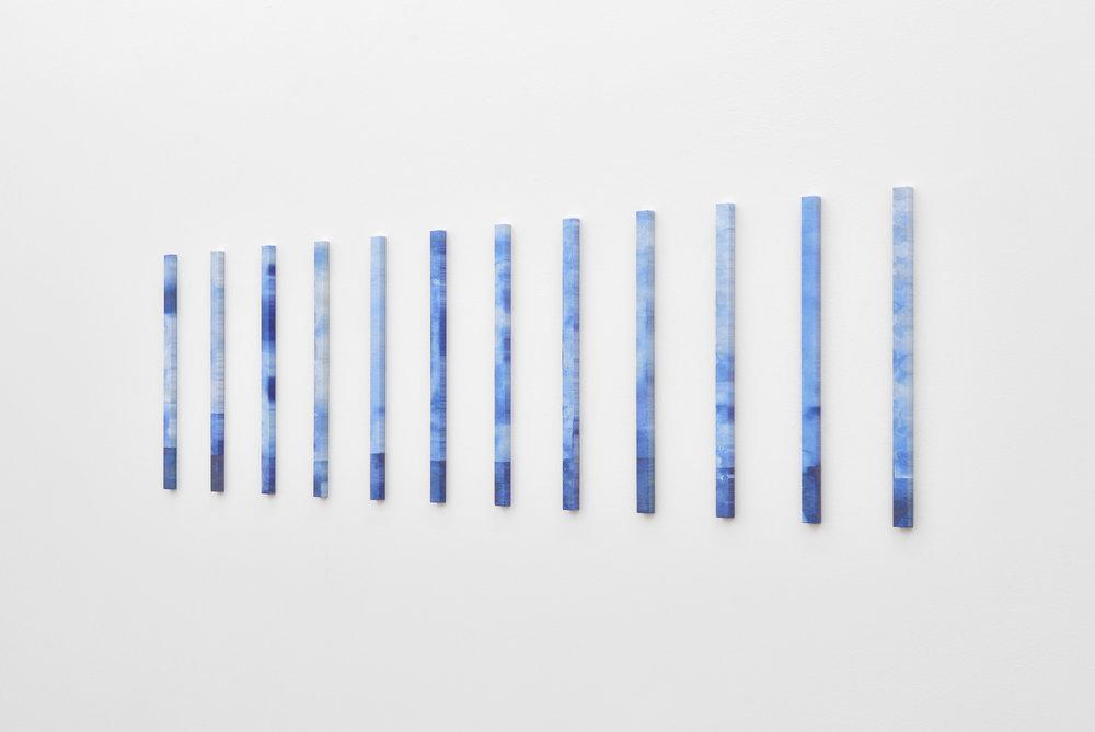 Carlos Reyes, Future King's Feet, 2013 unique 3D powder prints variable dimensions