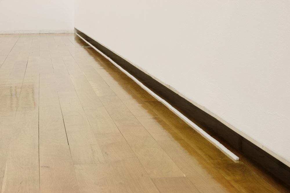 Jiri Kovanda, Untitled, 2008 two kilos of sugar in line variable dimensions