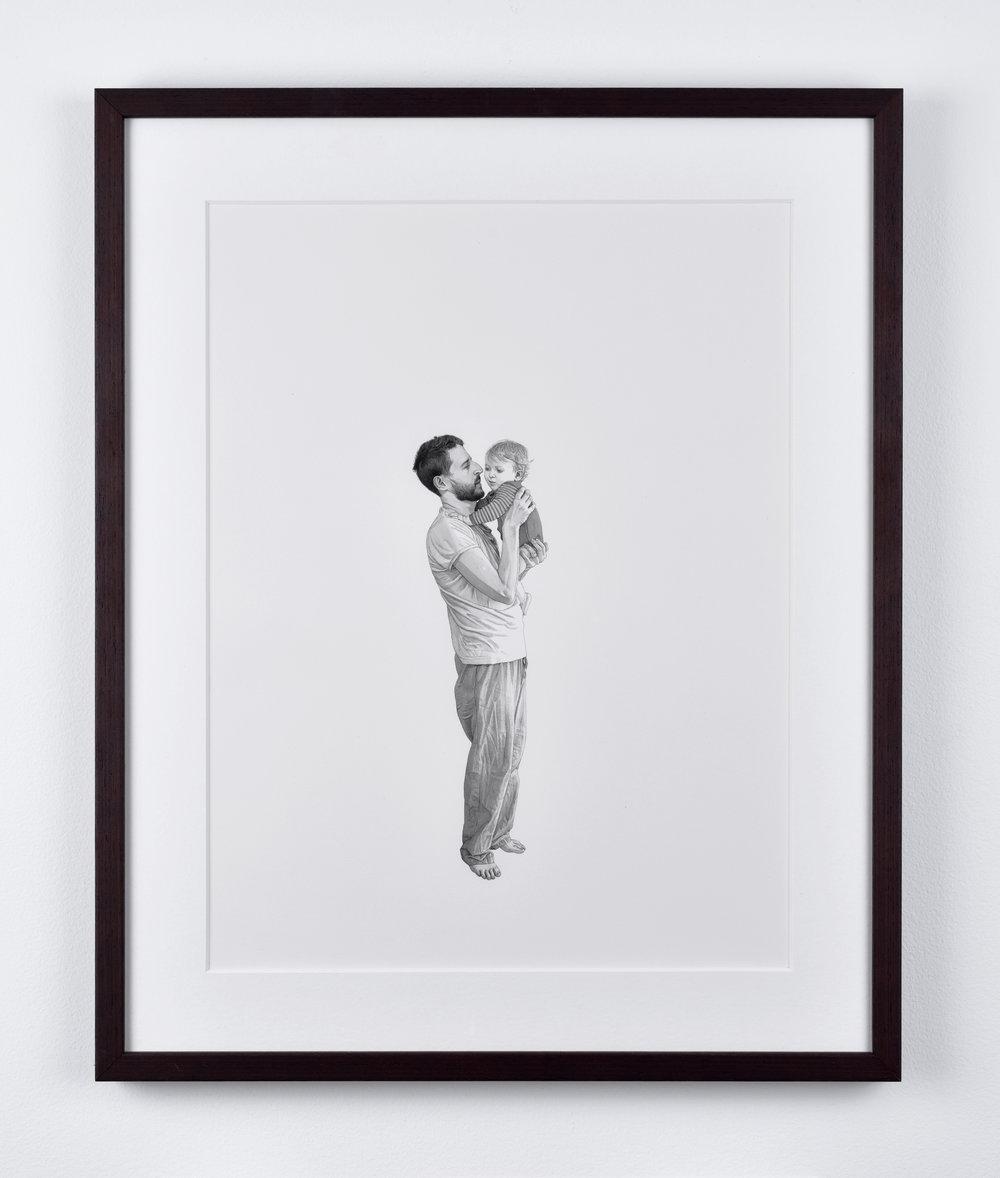 Fabien Mérelle, Samuel, 2015 ink on paper 42 x 33 cm - 16 1/2 x 12 7/8 inches