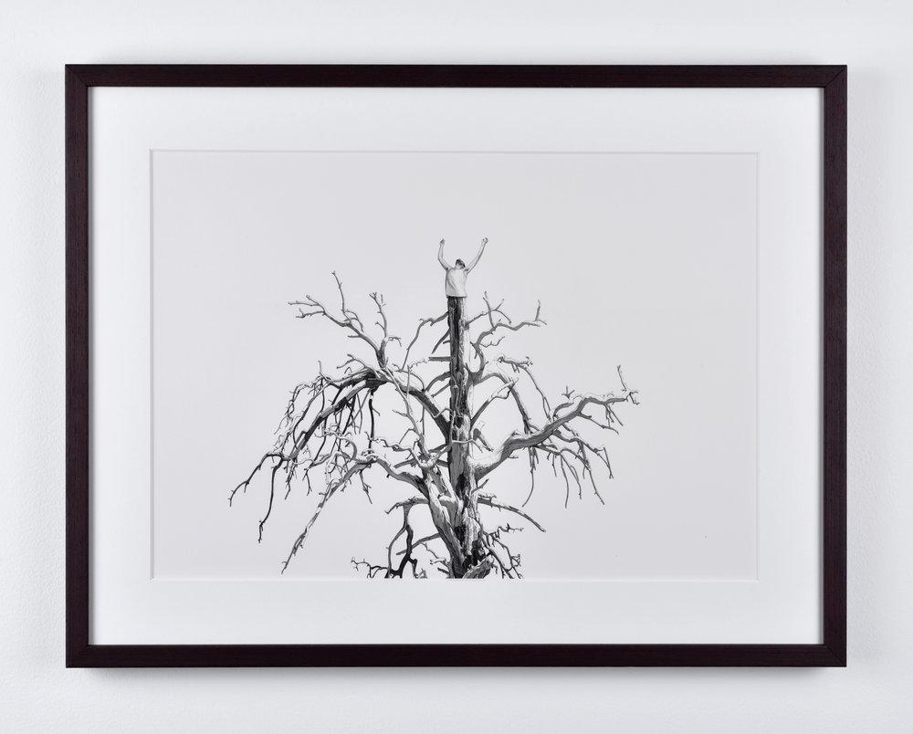 Fabien Mérelle, Breathe, 2015 ink on paper 30 x 42 cm - 11 3/4 x 16 1/2 inches