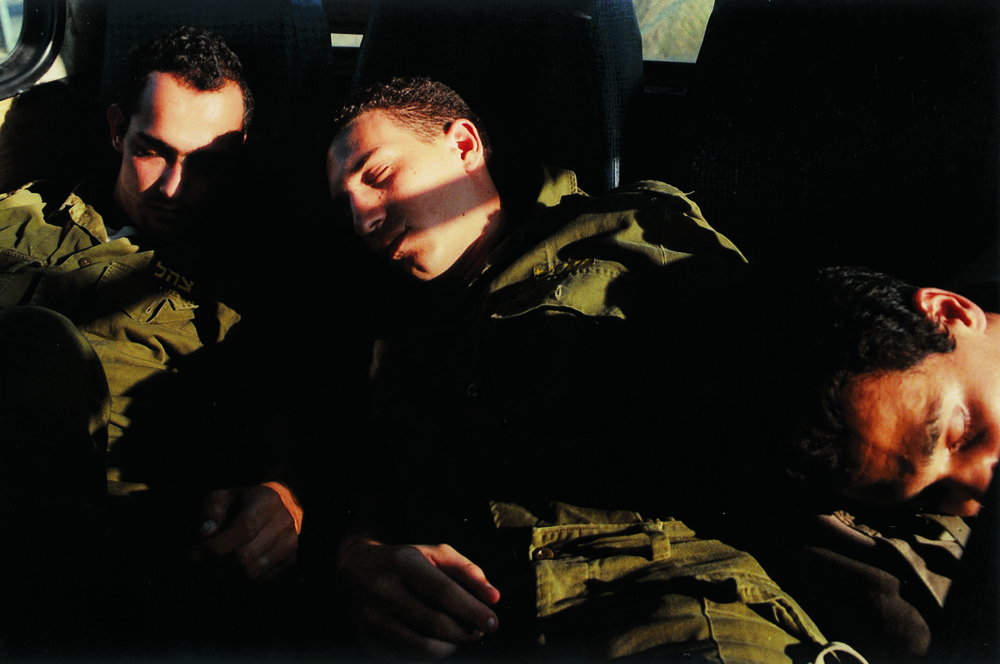 """""""Untitled"""" from """"Soldiers"""", 1999 color photograph mounted on pvc edition of 3 90 x 135 cm - 35 7/16 x 53 3/32 inches"""