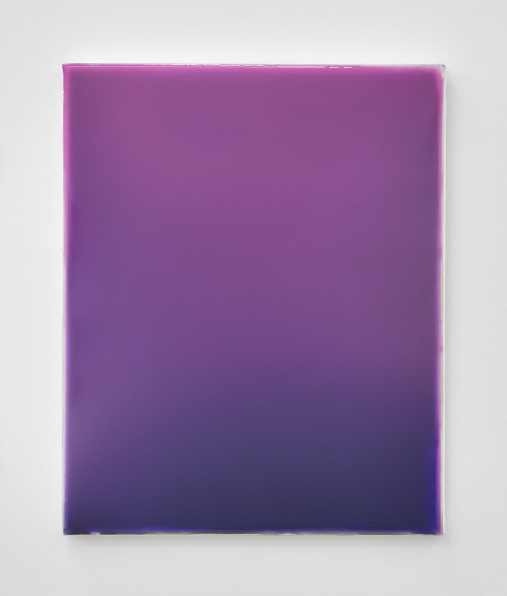 Gilles Teboul, Untitled 1988, 2017 acrylic and resin on canvas 50 x 40 cm - 19 11/16 x 15 3/4 inches