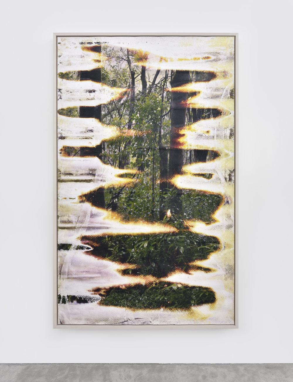 Matthew Brandt, Wai'anae 92150X, 2015 c-print buried in Wai'anae, Hawai'i 207,6 x 127 cm - 81 3/4 x 50 inches