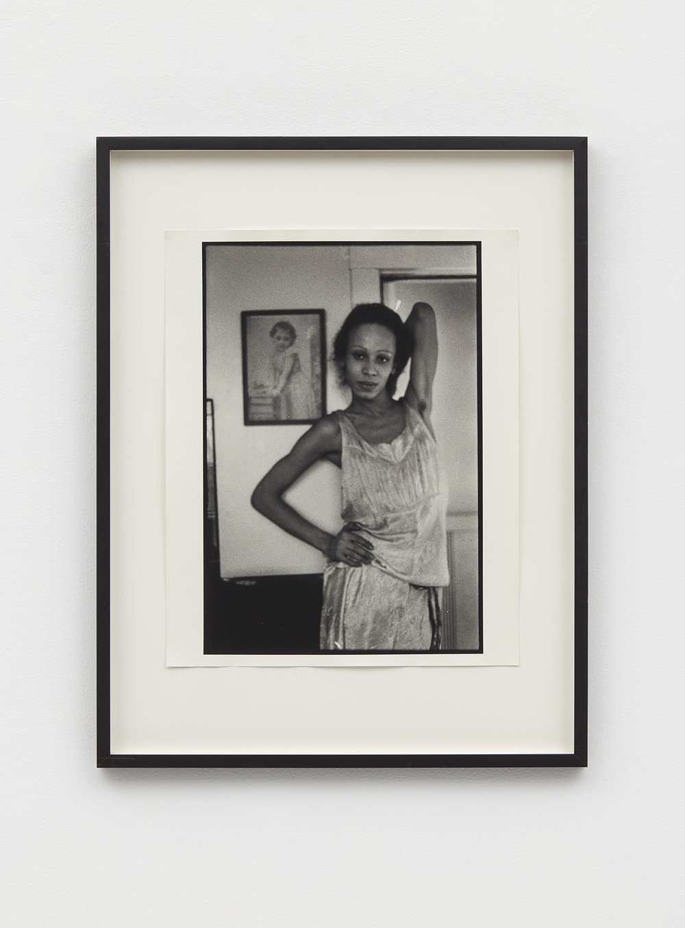 Nan Goldin, Bea in The Kitchen, 1972 silver gelatin print 72 x 56 cm - 28 11/32 x 22 1/16 inches (framed)