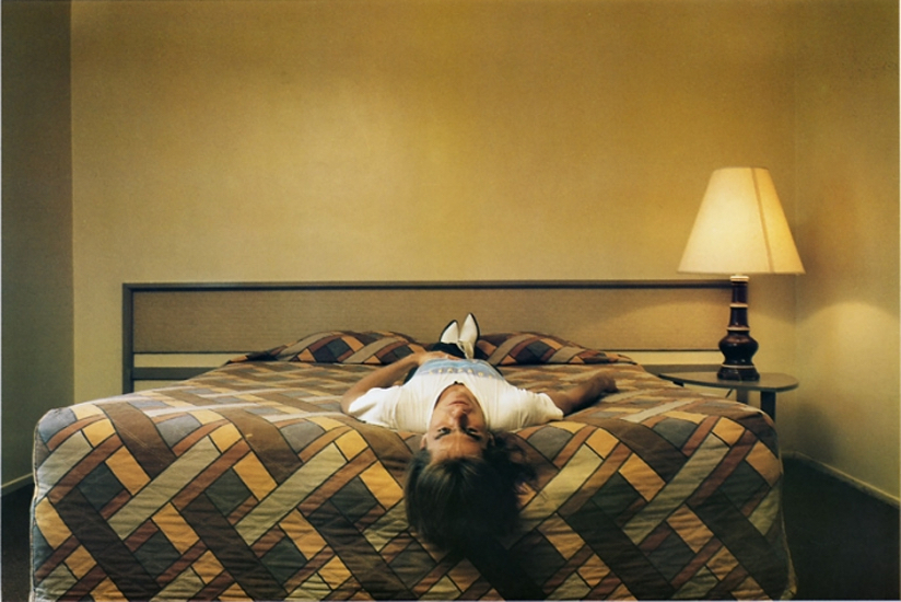 "Philip-Lorca diCorcia, Roy; ""in his twenties"", Los Angeles, California, $50, 1990-1992 ektacolor print edition of 20 58,5 x 75,5 cm - 23 1/32 x 29 23/32 inches (framed)"