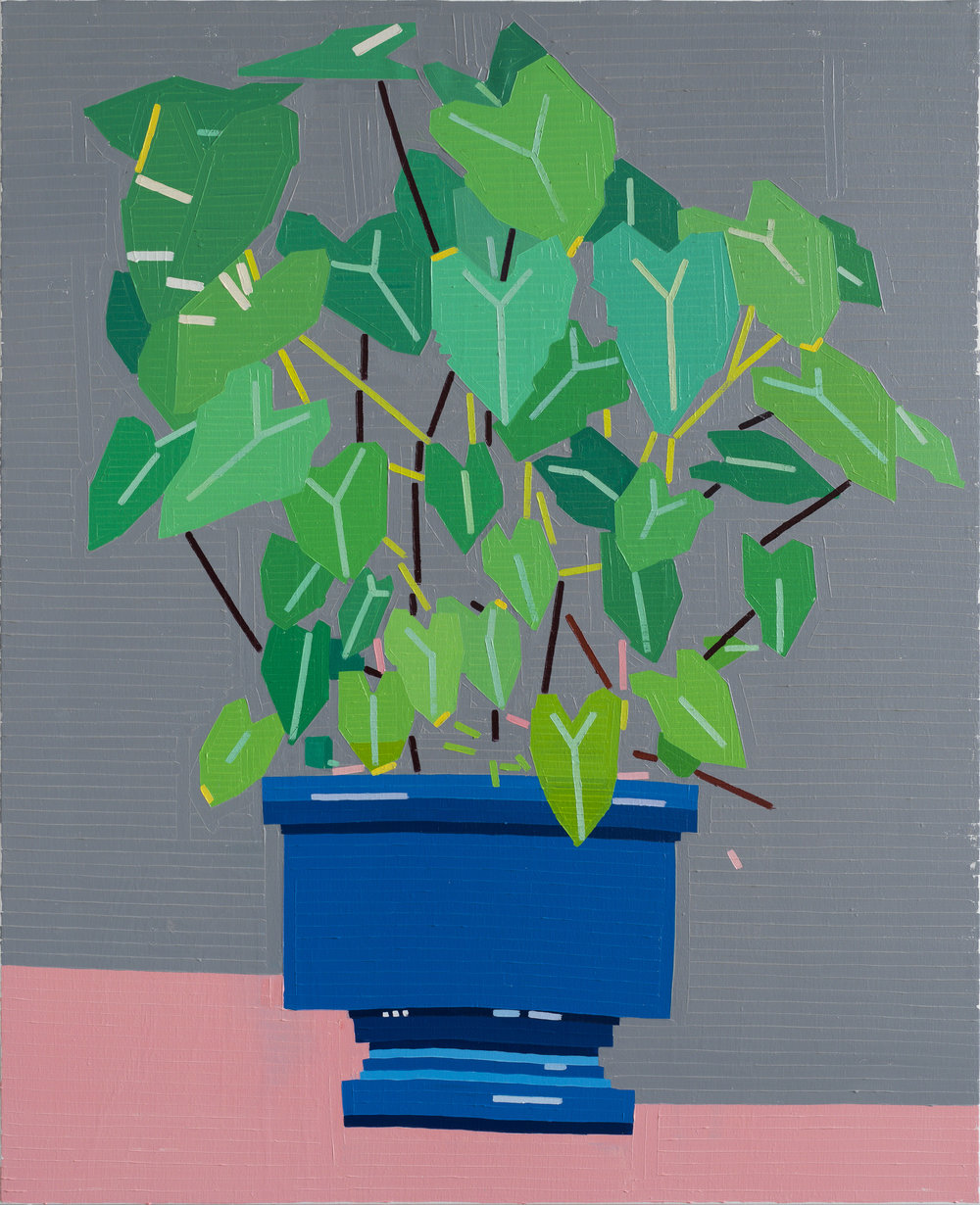 Giardini (Barbarian In The Garden), 2017 oil on linen 148 x 120 cm - 58 9/32 x 47 1/4 inches
