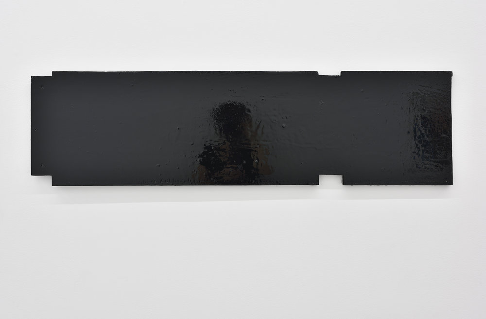 Lucas Jardin  Plage , 2018 Lacquer on wood 114 x 31 cm 44 7/8 x 12 7/32 inches