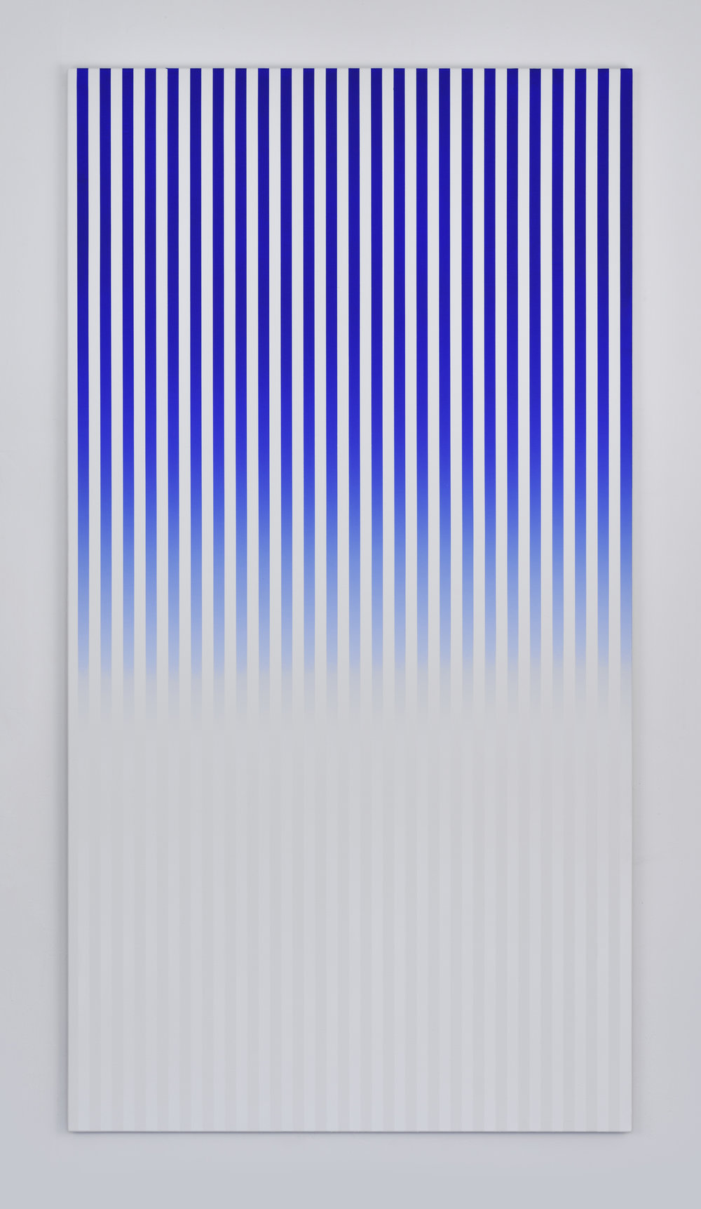 Slow Motion , 2016 acrylic on canvas 190 x 110 cm - (74 13/16 x 43 5/16 in)