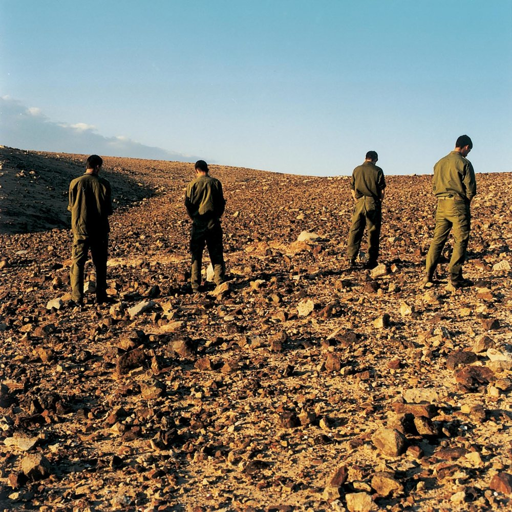 Adi Nes   Untitled , 2000 color photograph mounted on pvc 90 x 90 cm - 35 7/16 x 35 7/16 in