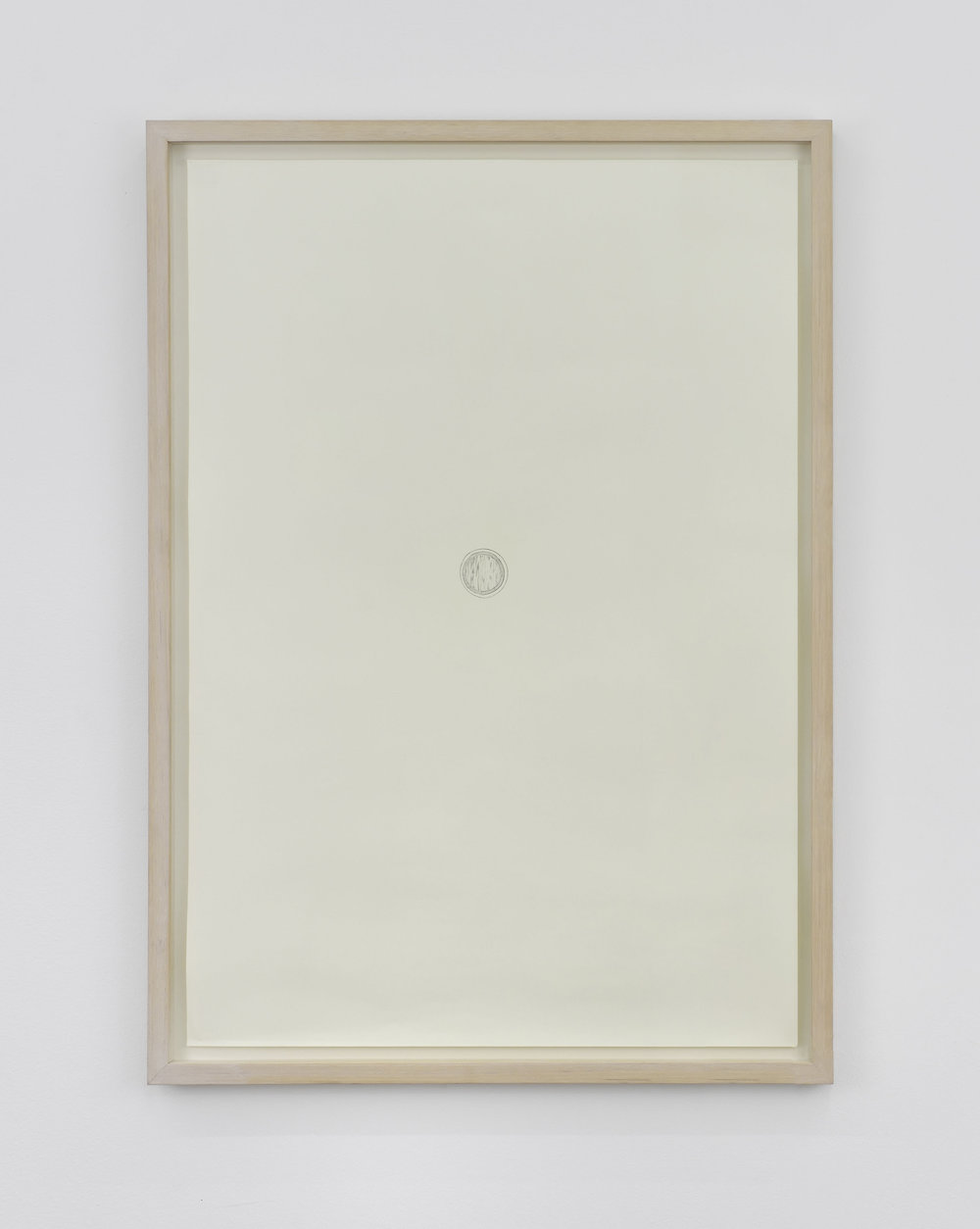 Trisha Donnelly The Volume, 2002 pencil on paper 36 7/32 x 25 25/32 in (92 x 65,5 cm)