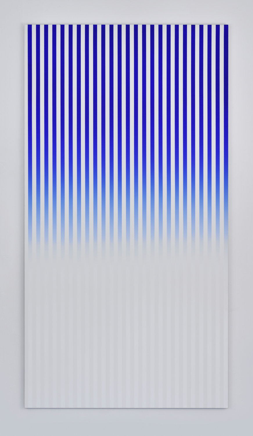 Slow Motion , 2016 acrylic on canvas 190 x 110 cm - 74 3/4 x 43 1/4 inches