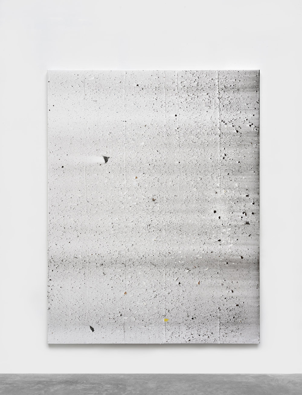 Thomas Fougeirol Untitled , 2016 Mixed media on canvas 77 5/32 x 59 7/16 in - 196 x 151 cm