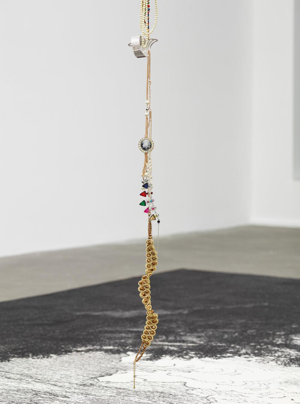 Pierre Ardouvin   La tête en bas (Upside Down) , 2017 (Installation detail)