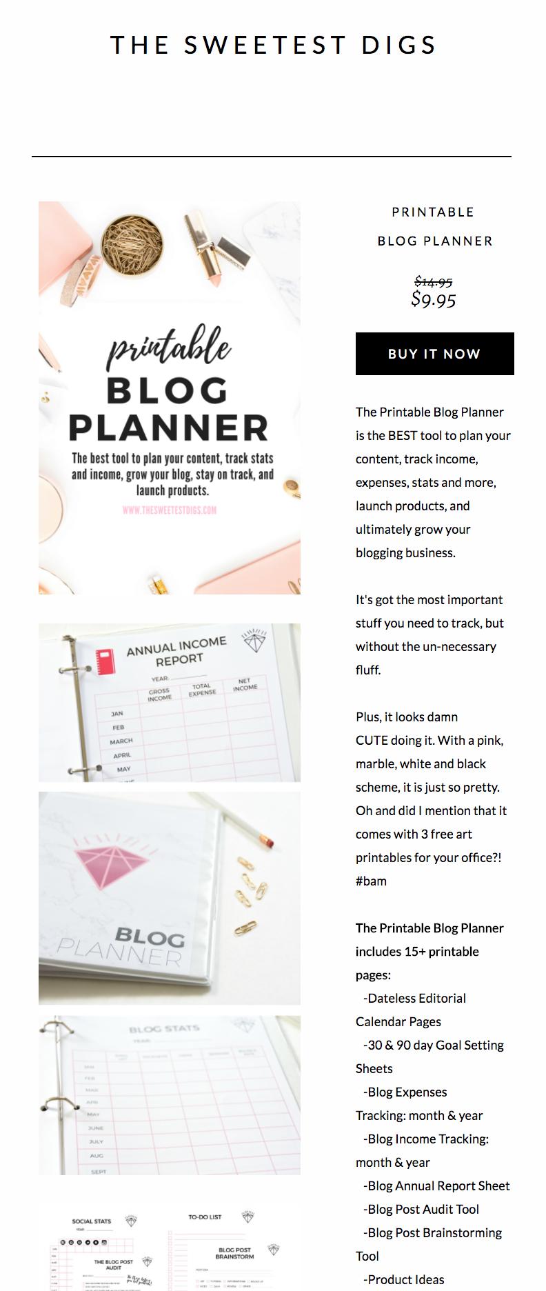 Gemma Blog Planner