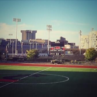 Gettler Stadium on University of Cincinnati's Campus. Photo taken & edited by Chandler Williams '17.