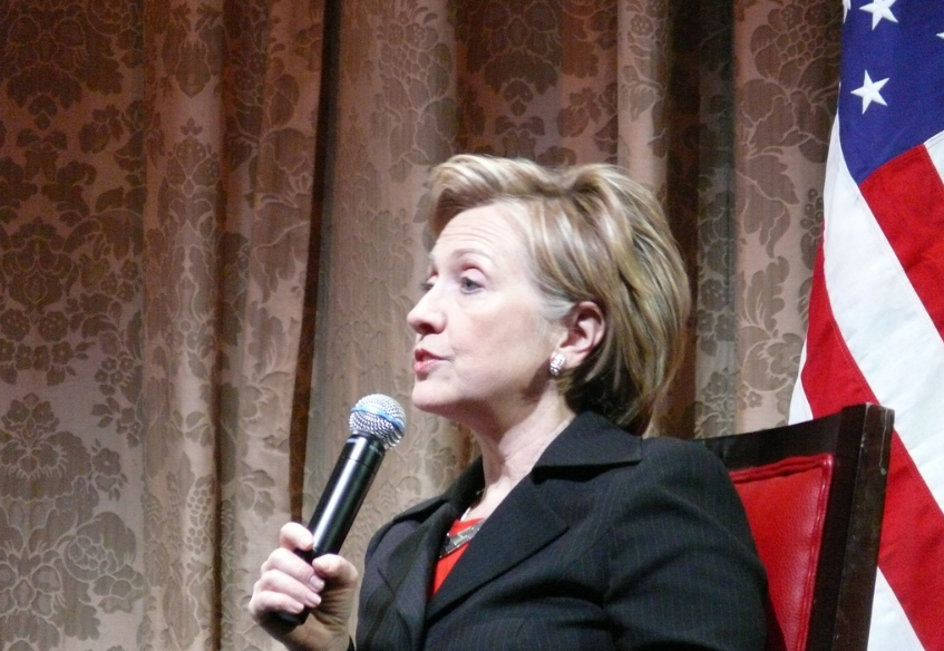 Hillary Clinton, 2016 Democratic nominee. Photo from  Photos for Class .