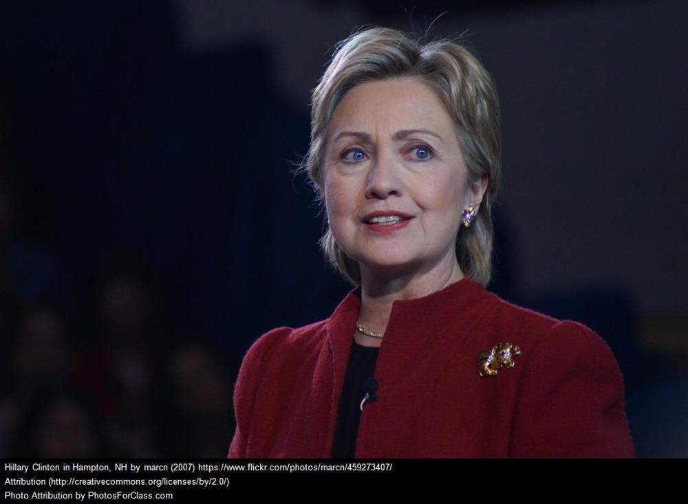Hilary Clintion a democrat