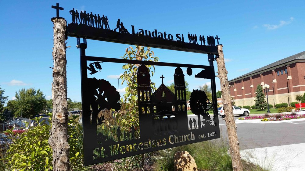 Saint Wenceslaus Church proclaims Laudato Si'