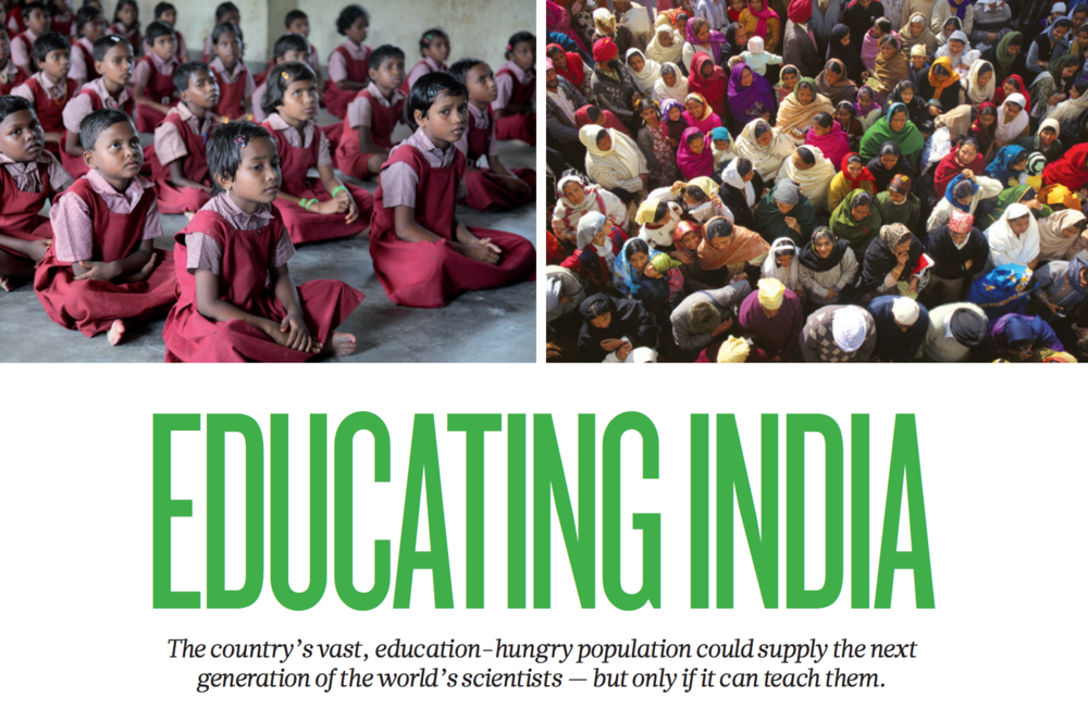 Educating India