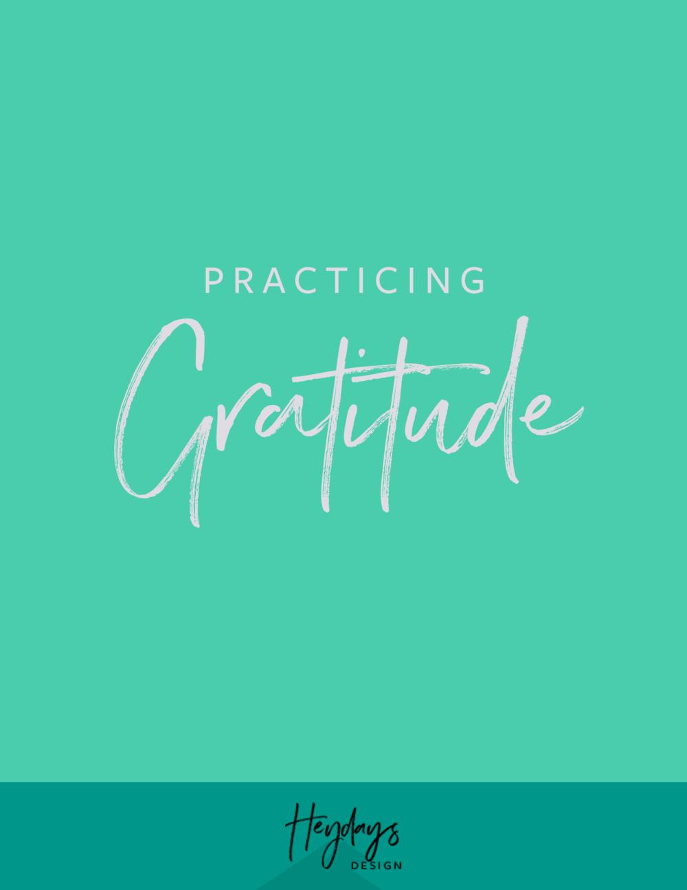 Lesson One: Gratitude + Mindset