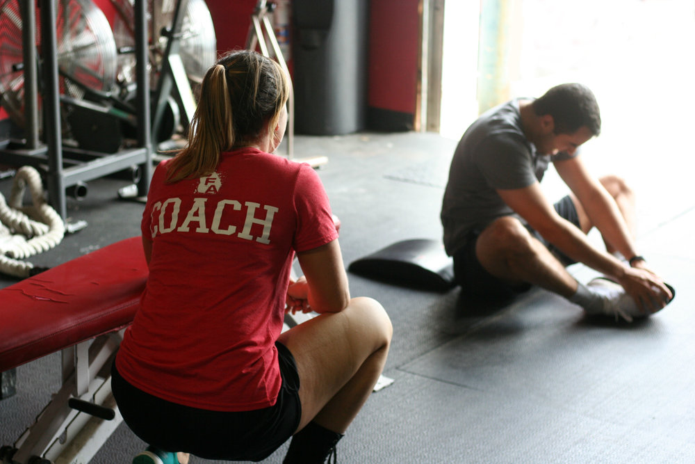 Personal Training - If you prefer a one-on-one environment, this is great for you. We will tailor the sessions based specifically on your goals and schedule them at times convenient for you. Also, if you want to accelerate your progress in a certain area, 30 minute sessions will put a laser focus on ways for you to improve.