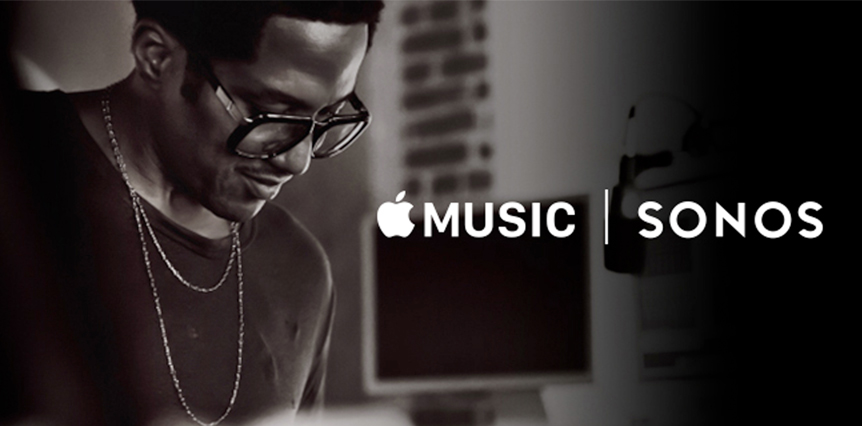 Rapper, Q-Tip was featured in the Sonos X Apple Music commercials