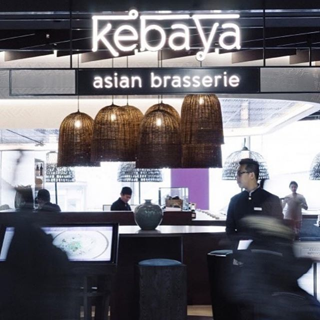 Checking out Kebaya, the Asian brassiere designed by #UXUS, as we fuel up for our next adventure ⠀ ⠀ #Schiphol #Netherlands #restaurantdesign #interiorconcepts #lifesajourney #readyfortakeoff