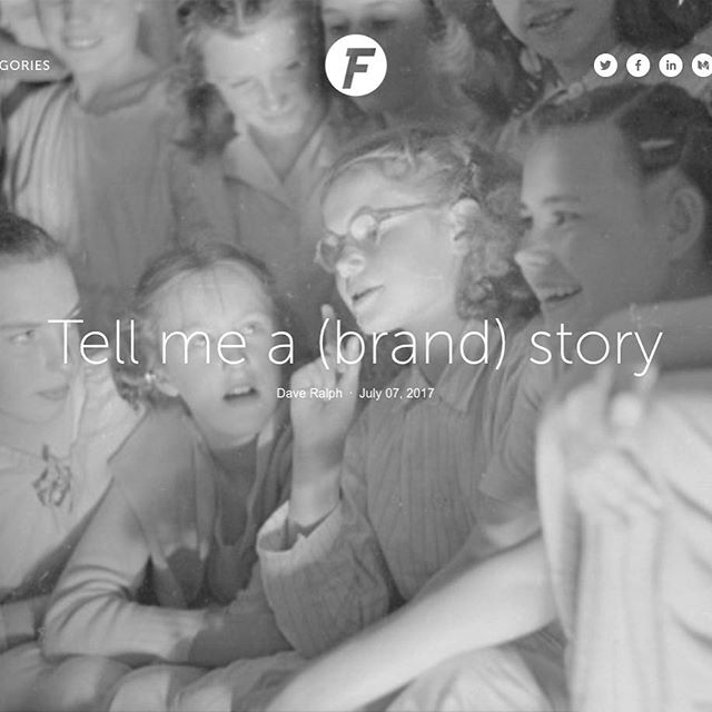 What makes a #brand legendary? A great story: http://buff.ly/2vPel7q