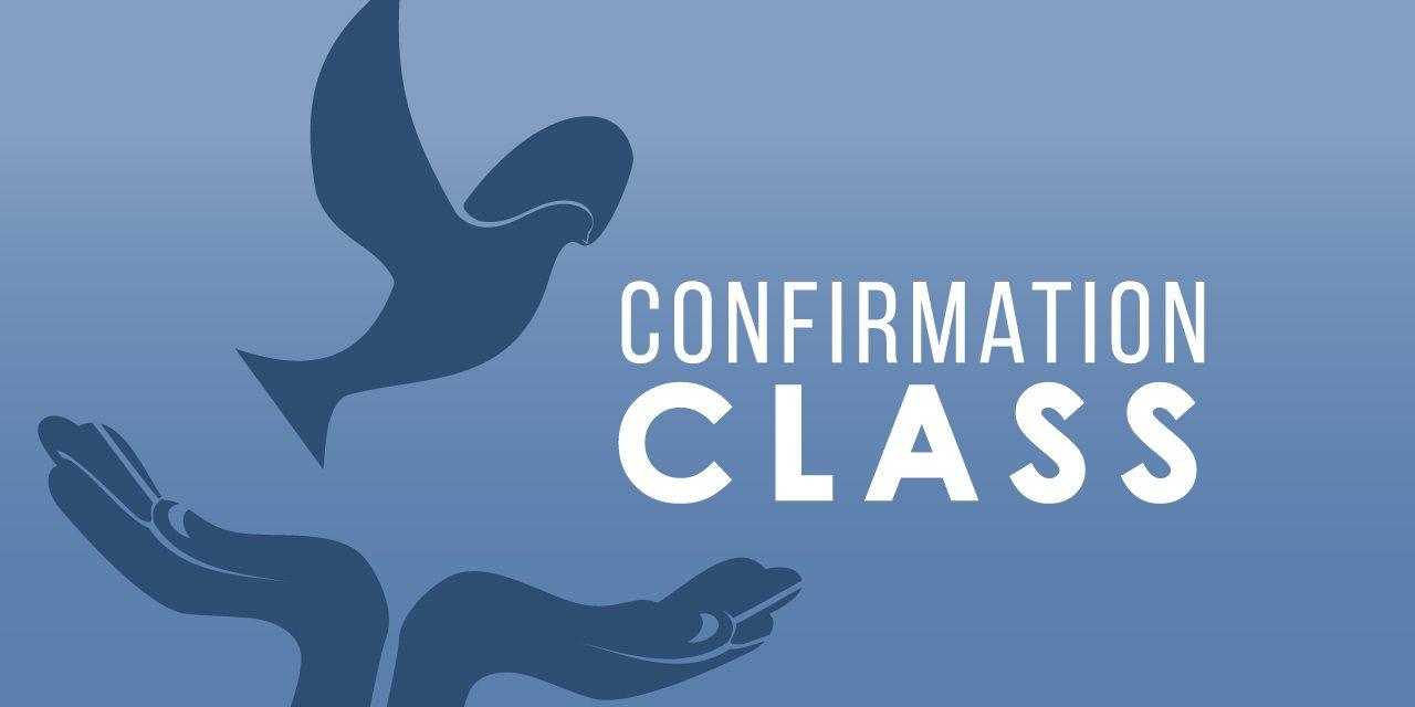 Confirmation Class — Bridgewater United Church