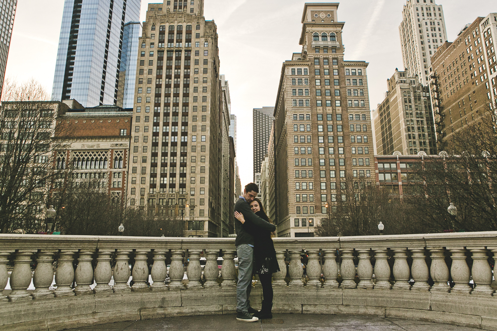Chicago Wedding Photographers_Engagement Session in snow_JPP Studios_RachelSean_01.JPG