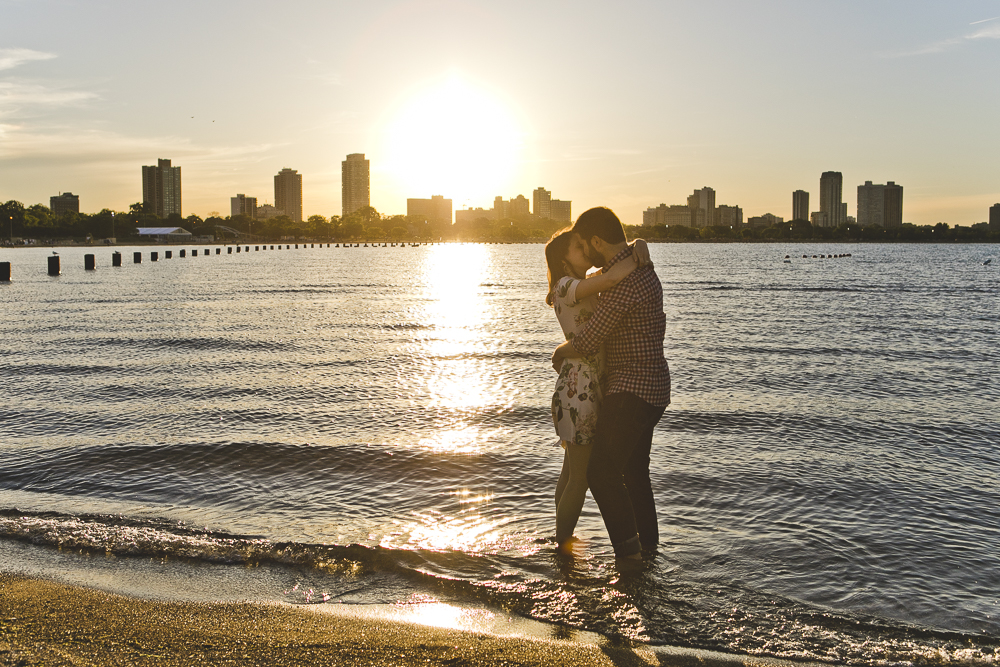 Chicago Wedding Photographers_Engagement Session with lakefront and skyline_JPP Studios_KC_01.JPG