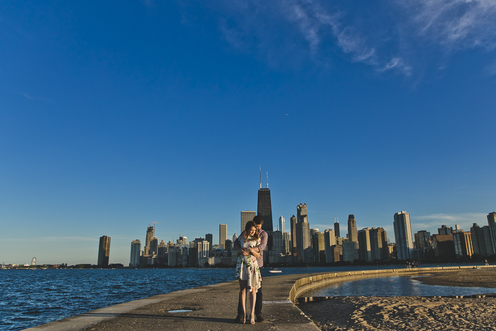 Chicago Wedding Photographers_Engagement Session with lakefront and skyline_JPP Studios_KC_12.JPG