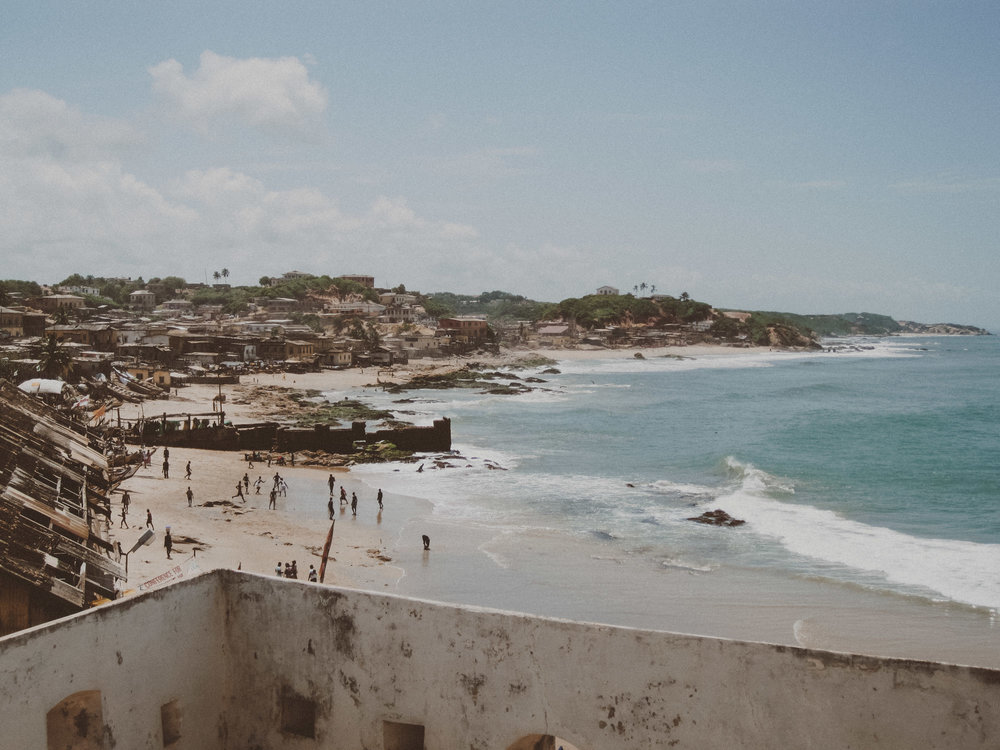 Cape Coast, Ghana  |  Photo by Caroline Taft, The Brazen Gourmand