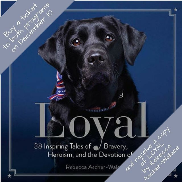 The 3rd Annual NY Dog Film Festival is December 10th. Buy a ticket to both programs before Sunday, November 26th and get a copy LOYAL by Rebecca Ascher-Walsh. Purchase tickets at www.dogfilmfestival.com