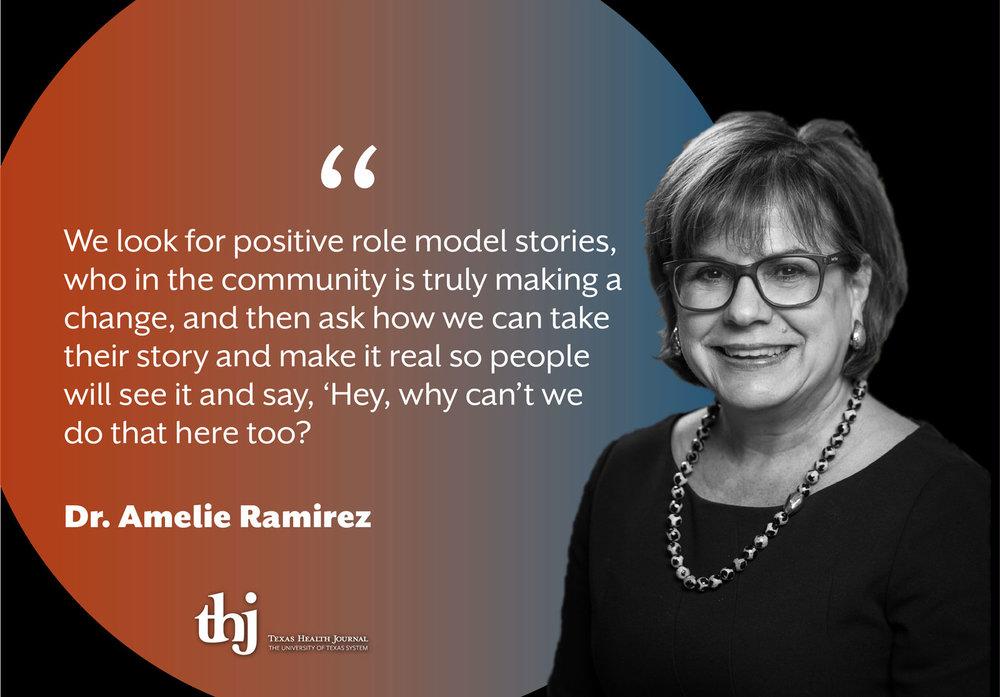 Amelie Ramirez portrait