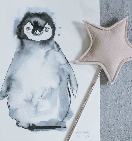 Lille Pingvin  -   This adorable little Penguin baby is sure to bring a smile to your face.