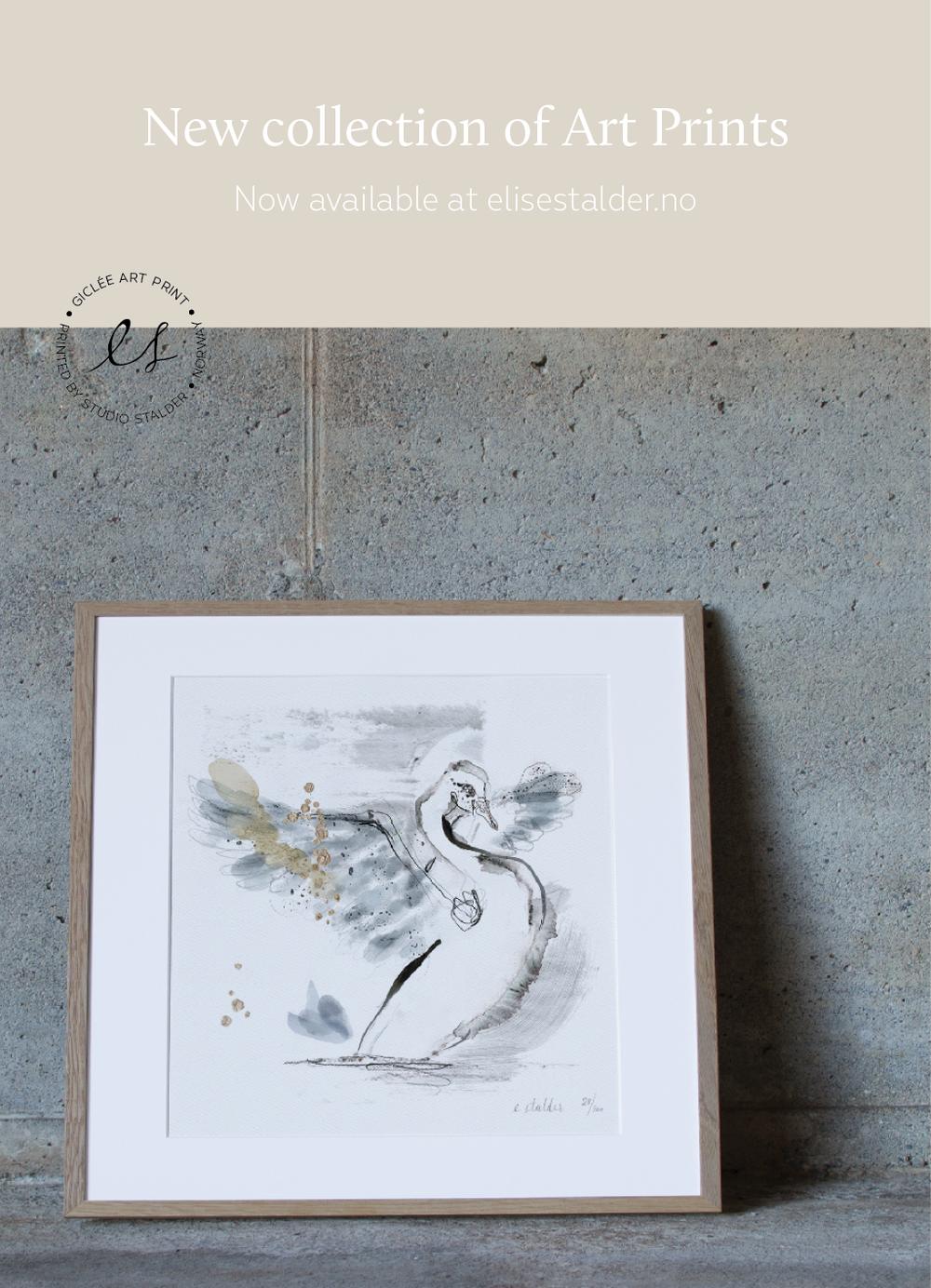 elise stalder art prints kunsttrykk