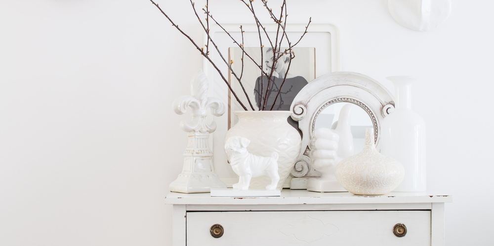 """You can't see the true form of a colour next to another colour, it has to be compared with a pure white. And who doesn't need a clean fresh white in their home!"" Jo Alcorn"