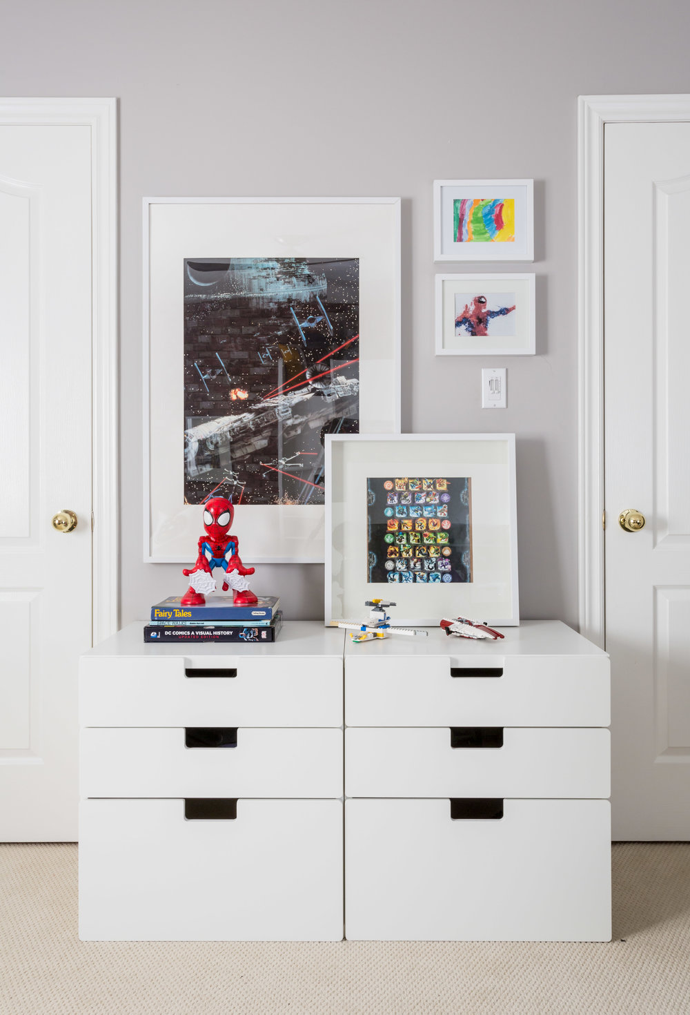 boy rooms, storage