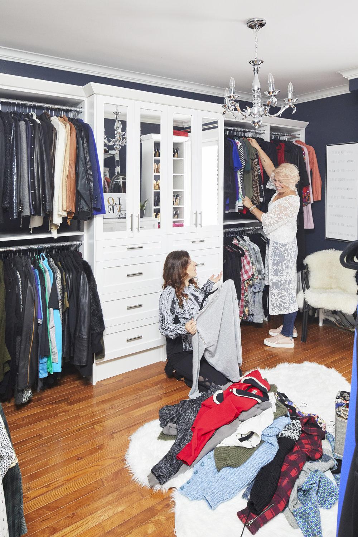 Jo Alcorn Taylor Kaye Closet Makeover