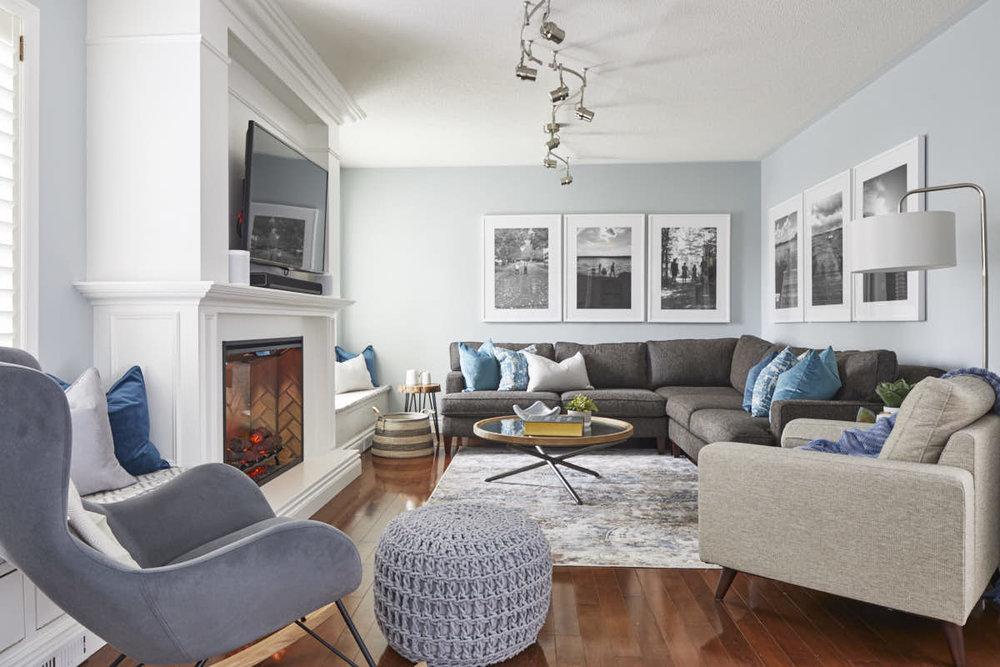 Jo Alcorn Design, living room