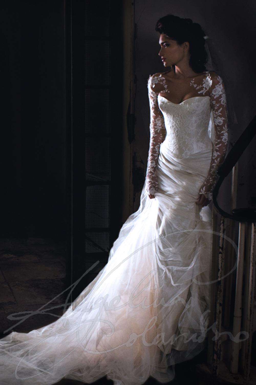 Angelina Colarusso Couture Wedding Dress Elise