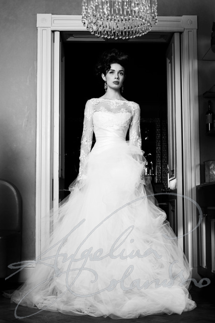 Angelina Colarusso Couture Wedding Dress Rossini