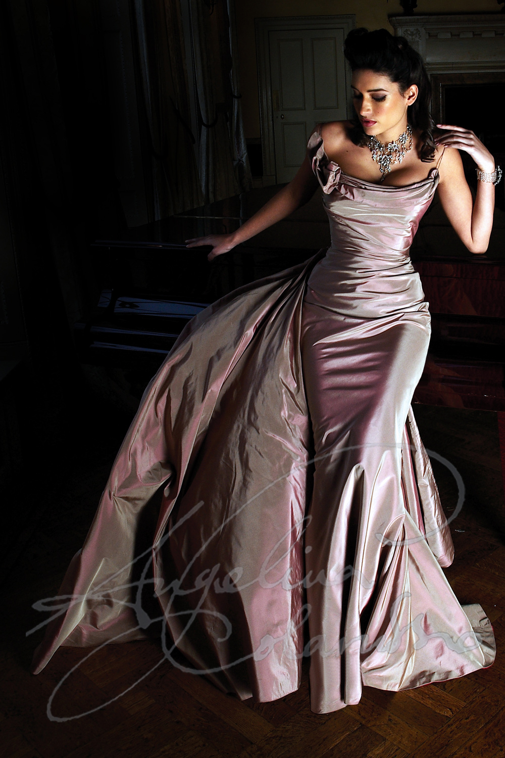 Angelina Colarusso Couture Wedding Dress Opera