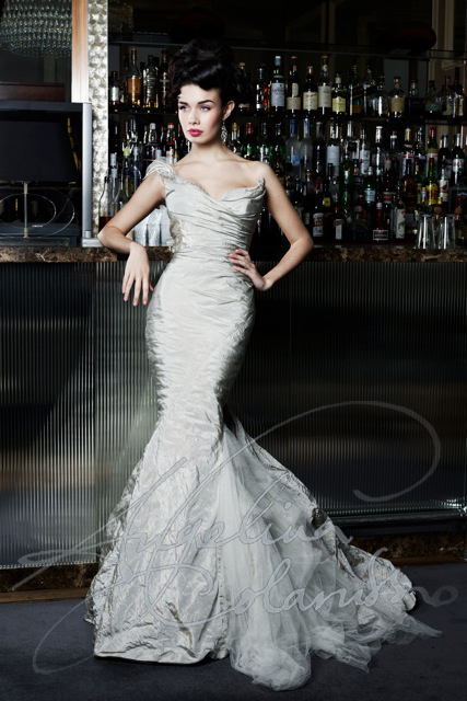 Angelina Colarusso Couture Wedding Dress Gabor
