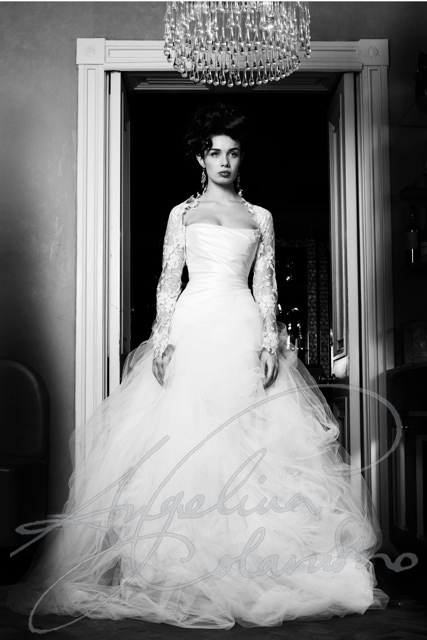 Angelina Colarusso Couture Wedding Dress Isabella