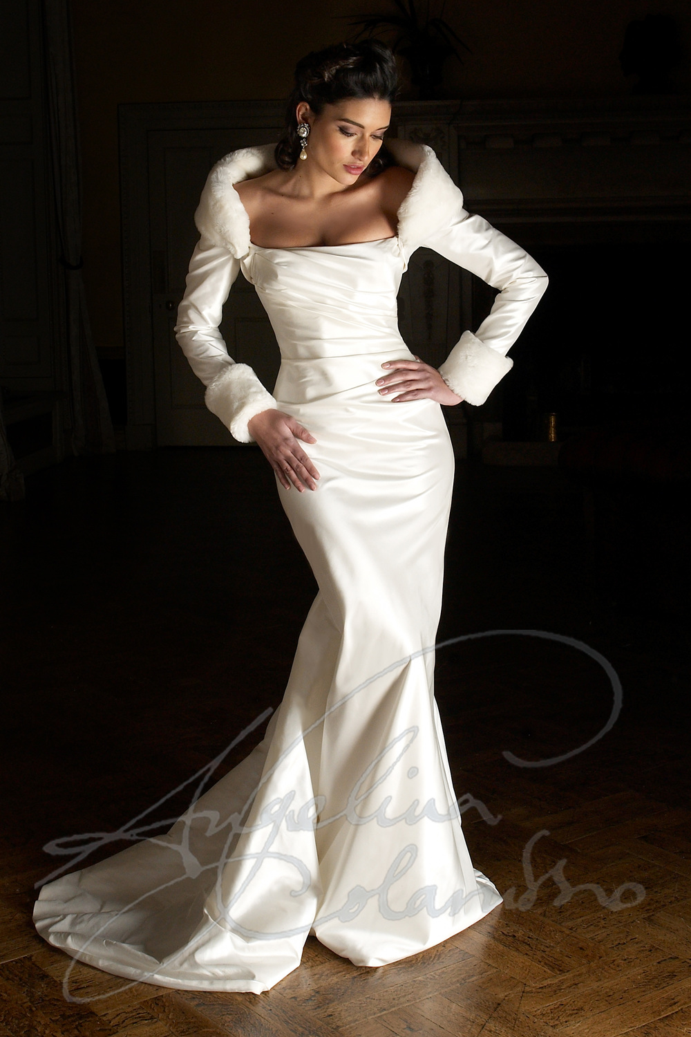 Angelina Colarusso Couture Wedding Dress Anoushka