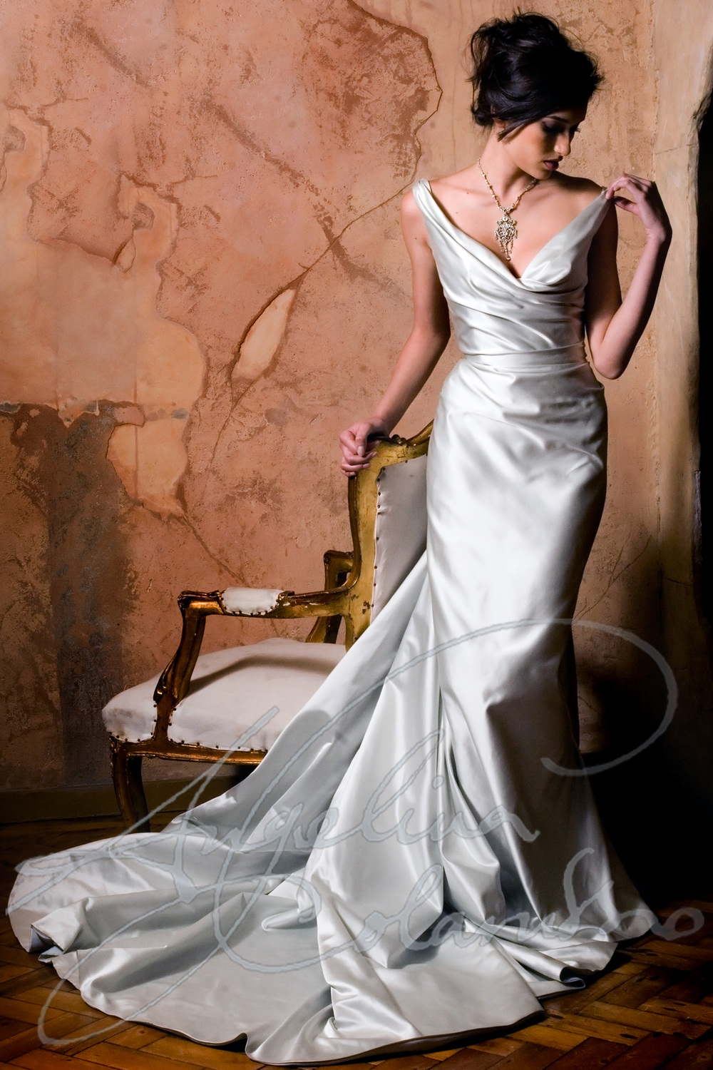Angelina Colarusso Couture Wedding Dress Dolce Vita