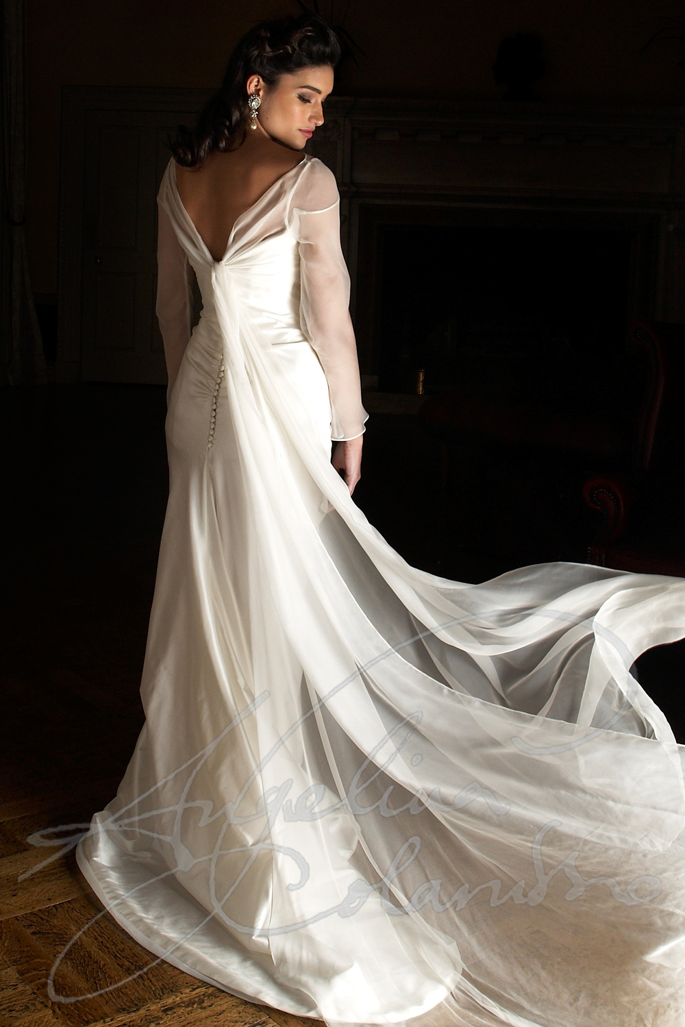 Angelina Colarusso Couture Wedding Dress Debussy